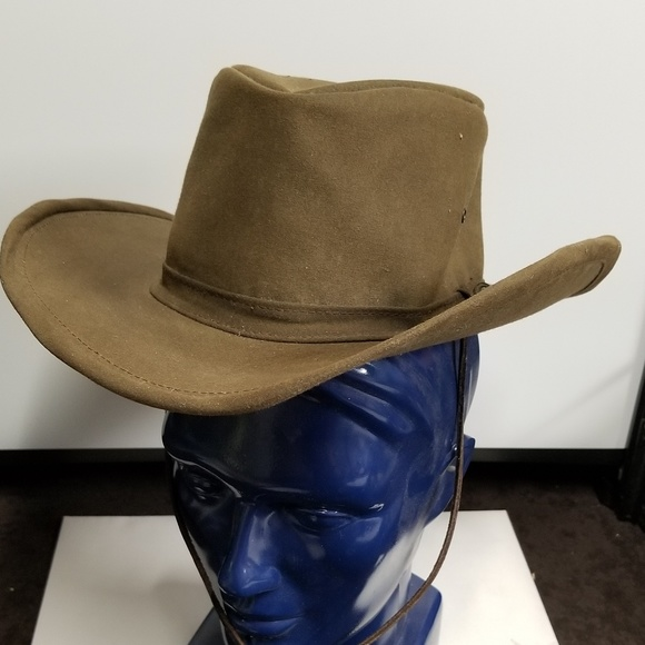 Australian Outback Other - The Australian Outback Oilskin Cowboy Hat 01621336980